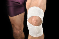 Knee wrap Royalty Free Stock Image