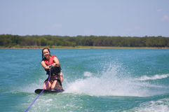 Kneeboarding Royalty Free Stock Photos