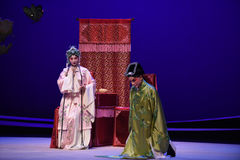 "Kneel begging-Kunqu Opera ""the West Chamber"" Royalty Free Stock Photos"