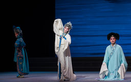 """Kneeling apology-The seventh act Disintegration of families-Kunqu Opera""""Madame White Snake"""". Legend of the White Snake is one of the most famous tales Stock Images"""