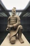 Kneeling Archer Of Terracotta Warrior Stock Photo