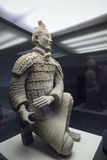 Kneeling archer of terracotta warrior Royalty Free Stock Images