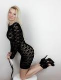 Kneeling Royalty Free Stock Photo
