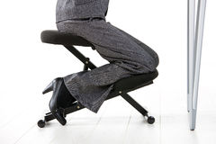 Kneeling chair Royalty Free Stock Photography