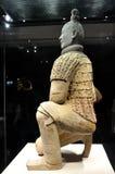 Kneeling Shoot Terracotta Warrior Royalty Free Stock Images