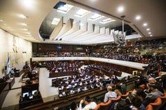 Knesset israelí del parlamento Jerusalén, Israel foto de archivo