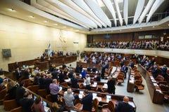 Knesset israelí del parlamento Jerusalén, Israel Fotos de archivo