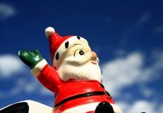 Knettergekke Kerstman 2 Stock Foto