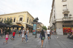 Knez Mihailova Street, Belgrade Royalty Free Stock Photo
