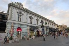 Knez Mihailova Street, Belgrade Stock Images