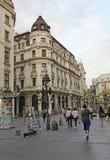Knez Mihailova Street, Belgrade Royalty Free Stock Images