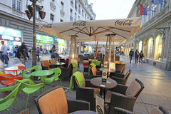 Knez Mihailova Street, Belgrade Royalty Free Stock Photos