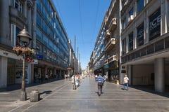 Knez Mihailova street Stock Photography