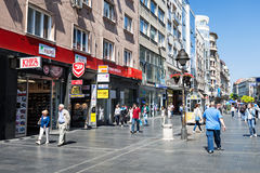 Knez Mihailova Street Royalty Free Stock Images