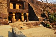 Knheri cave in Mumbai maharashtra. royalty free stock images