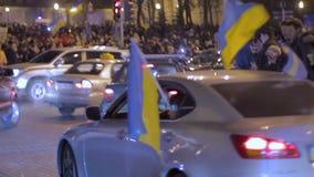 Kniaź Automaidan ruch podczas 2014 rewoluci godność, patriotyzm zdjęcie wideo