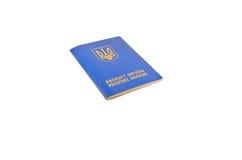 Kniaź cudzoziemski paszport odizolowywający na bielu obrazy royalty free