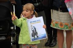 Kniaź w Cypr przedstawienia solidarności Zdjęcie Stock