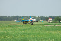 Kniaź AF MiG-29 Zdjęcia Stock