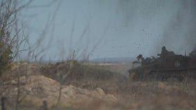 Knia? BTR p?ka na kopalni zbiory wideo