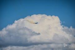Kniaź SU-27 pokaz podczas Radomskiego pokazu lotniczego 2013 Obrazy Royalty Free