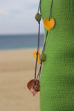Knick-knack Necklaces. A beautiful knick-knack necklaces Royalty Free Stock Images
