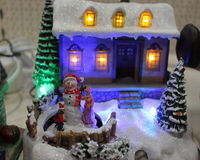 Knick-knack voor Kerstmis stock fotografie