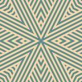 Knickente und geometrisches nahtloses Muster des Vektors mit Streifen, diagonale Linien bräunen vektor abbildung