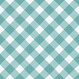 Knickente und weißer gestreifter Gingham-Fliesen-Muster-Wiederholungs-Hintergrund stock abbildung