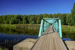 Knickentenbrücke stockbilder
