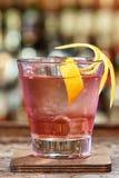 Knickerbocker коктеиля основанное на ликере рома и поленики Стоковые Изображения