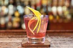 Knickerbocker do cocktail do vintage fotos de stock