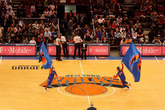 Knicks Flags Royalty Free Stock Photography