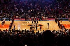 Knicks x Indiana Pacers Madison Square Garden Lizenzfreie Stockbilder