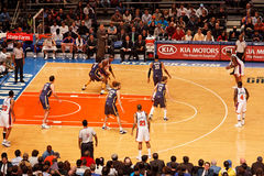 Knicks x Indiana Pacers Madison Square Garden fotografia de stock