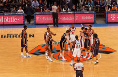 Knicks x Indiana Pacers Madison Square Garden Lizenzfreies Stockbild