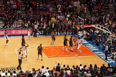 Knicks x Indiana Pacers Madison Square Garden Fotos de archivo libres de regalías