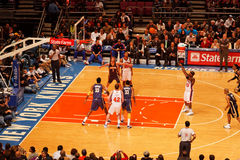Knicks x Indiana Pacers Madison Square Garden foto de stock royalty free