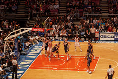 Knicks x Indiana Pacers Madison Square Garden Stock Photography