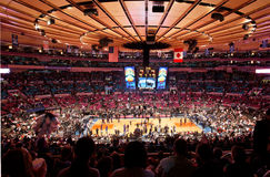Knicks x Indiana Pacers Madison Square Garden Royalty-vrije Stock Afbeeldingen