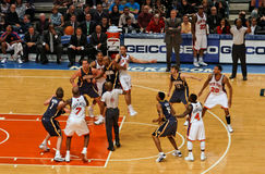Knicks x Indiana Pacers Madison Square Garden Lizenzfreies Stockfoto