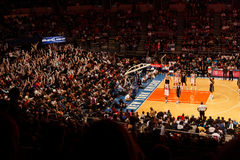 Knicks x Indiana Pacers Madison Square Garden Stock Image