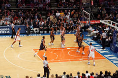 Knicks x Indiana Pacers Madison Square Garden Stock Photos