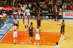 Knicks x Indiana Pacers Madison Square Garden Imagenes de archivo
