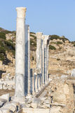 Knidos, Mugla土耳其废墟  免版税库存照片