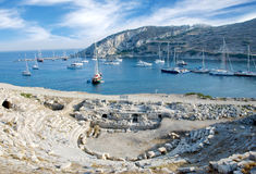 Knidos Datca Turkey Royalty Free Stock Images