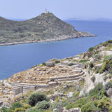 Knidos in Turkey Royalty Free Stock Photography
