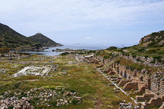 Knidos in Turkey Stock Image