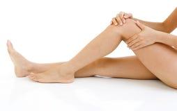 Knie-Verletzung lizenzfreie stockfotos