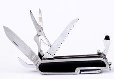 Knife. Penknife with blades for rozlichnykh actions Royalty Free Stock Photos